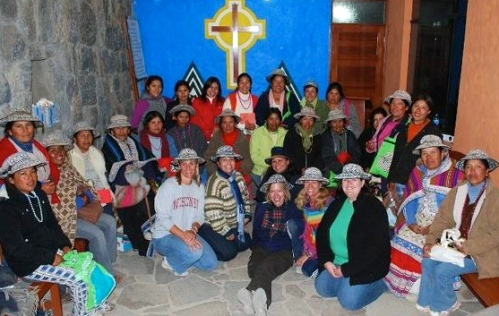 The women of St. Philip's and the women of Cabanaconde!