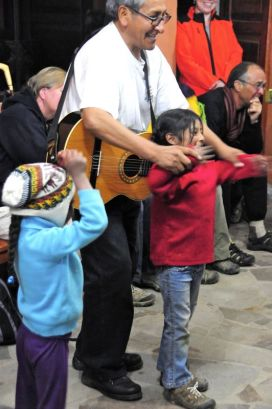Father Alejandro often shared the love of Christ through music