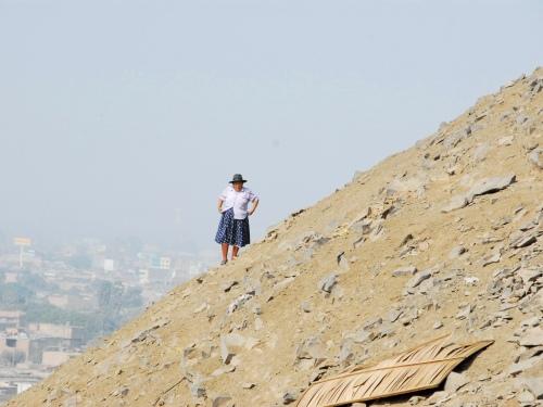 A hill aside San Andrés.